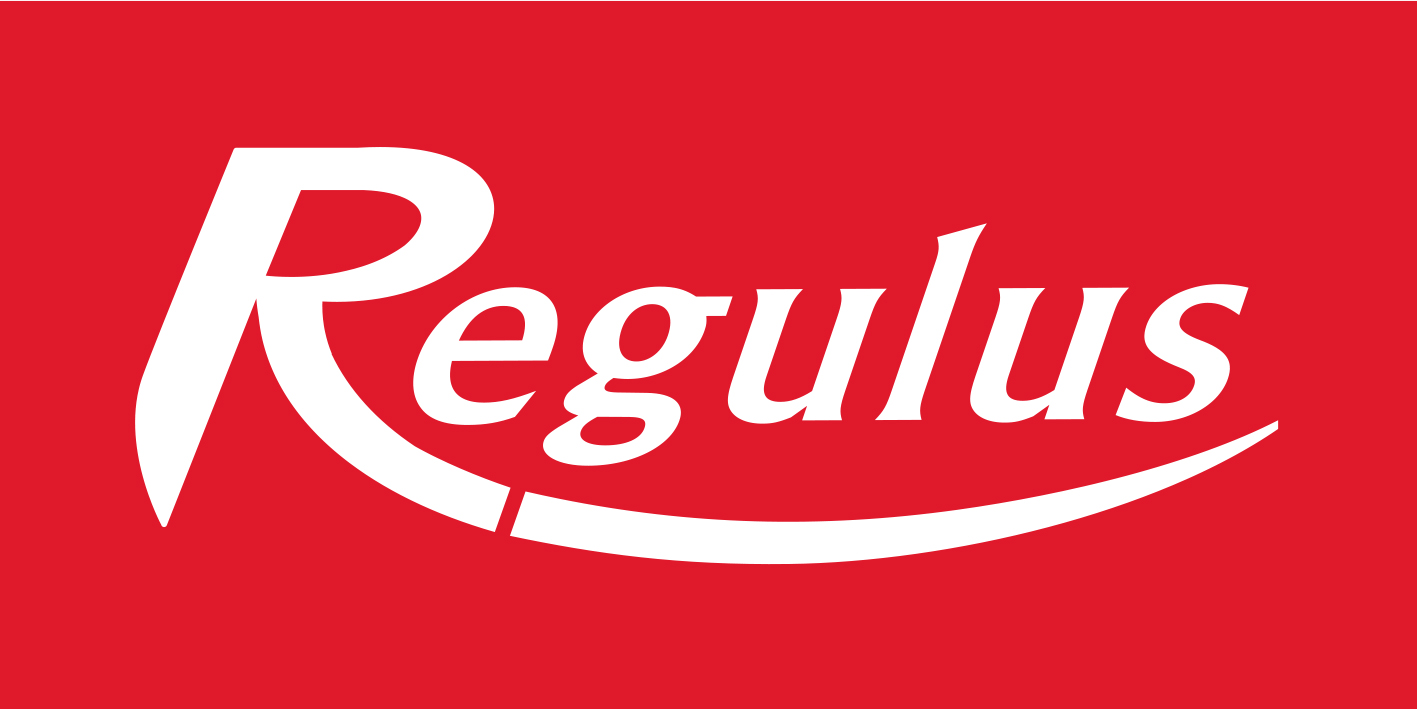 logo Regulus red inverz